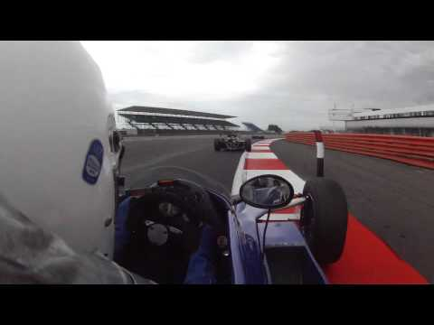 2012 URS FF2000 Silverstone Race 2 onboard with Marc Mercer