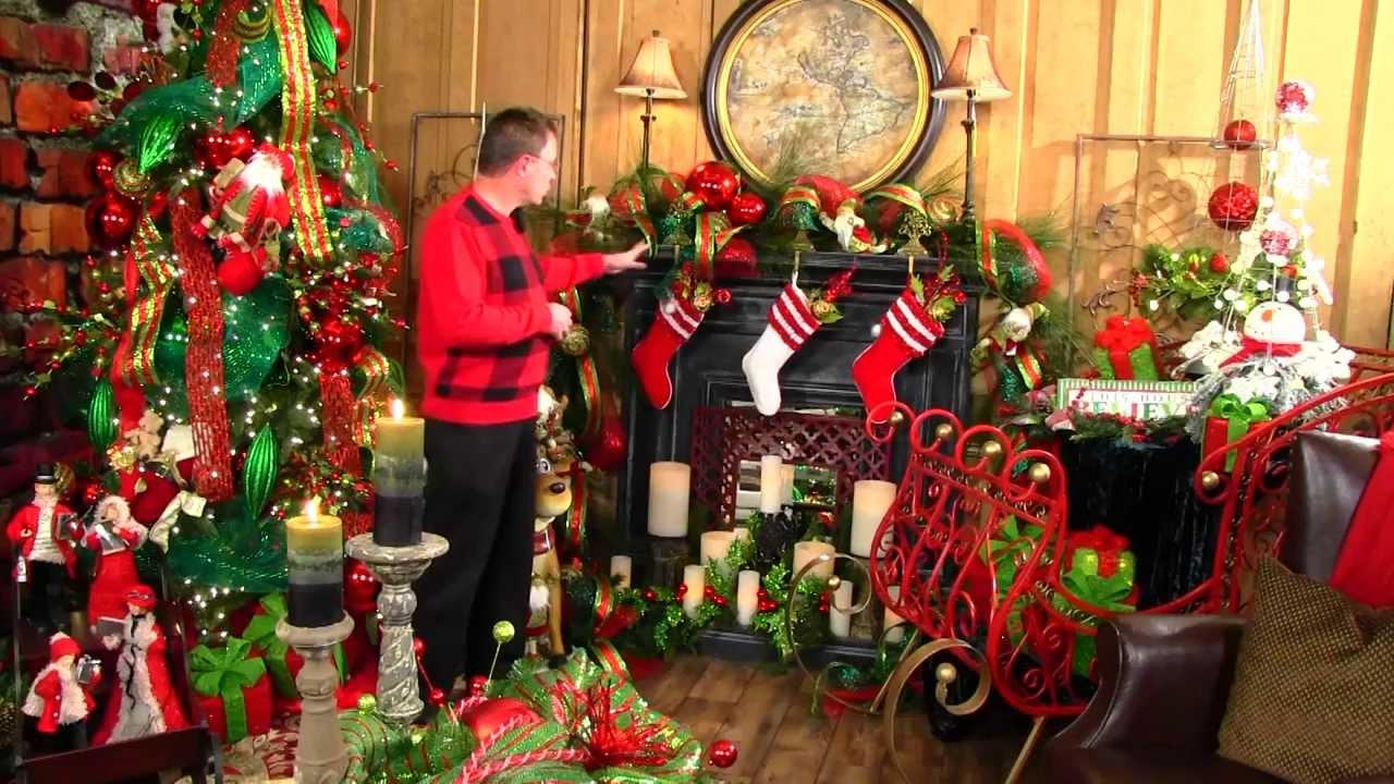 Believe christmas mantle decor 2013 youtube Christmas home decoration youtube