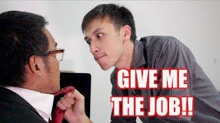 AT A TEACHER'S JOB INTERVIEW