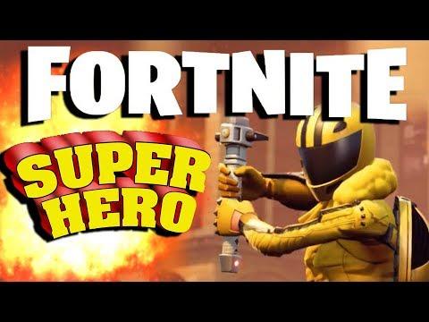 WHEN FORTNITE NEEDS A SUPERHERO...