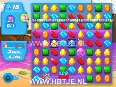 Candy Crush Soda Saga level 21