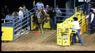 2015 NFR TIE DOWN ROPING ROUND 1