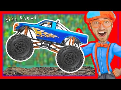 Monster Trucks for Kids – Educational Videos for Toddlers | Learn Colors