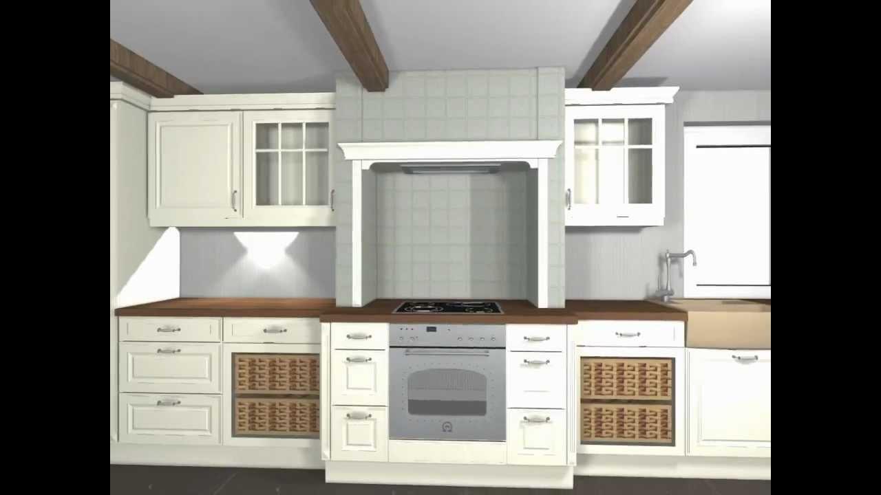 nobilia programm 224 castello vanille gewischt youtube. Black Bedroom Furniture Sets. Home Design Ideas