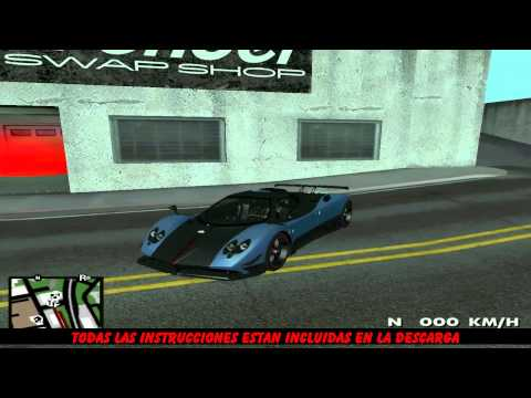 Pack de 10 Autos Deportivos para Gta San Andreas Parte 1
