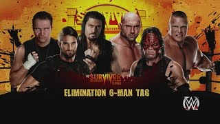 WWE 2K15 Universe Survivor Series The Shield Vs The