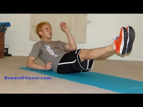 15 Minute Body Weight Interval Workout: Home Fat Burn