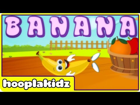 Limba engleză pentru copii - Banana