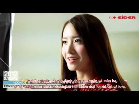 [yoonavn][vietsub] Yoona & Lee Min Ho - Eider Friends (The Making Of 2012SS Catalog)