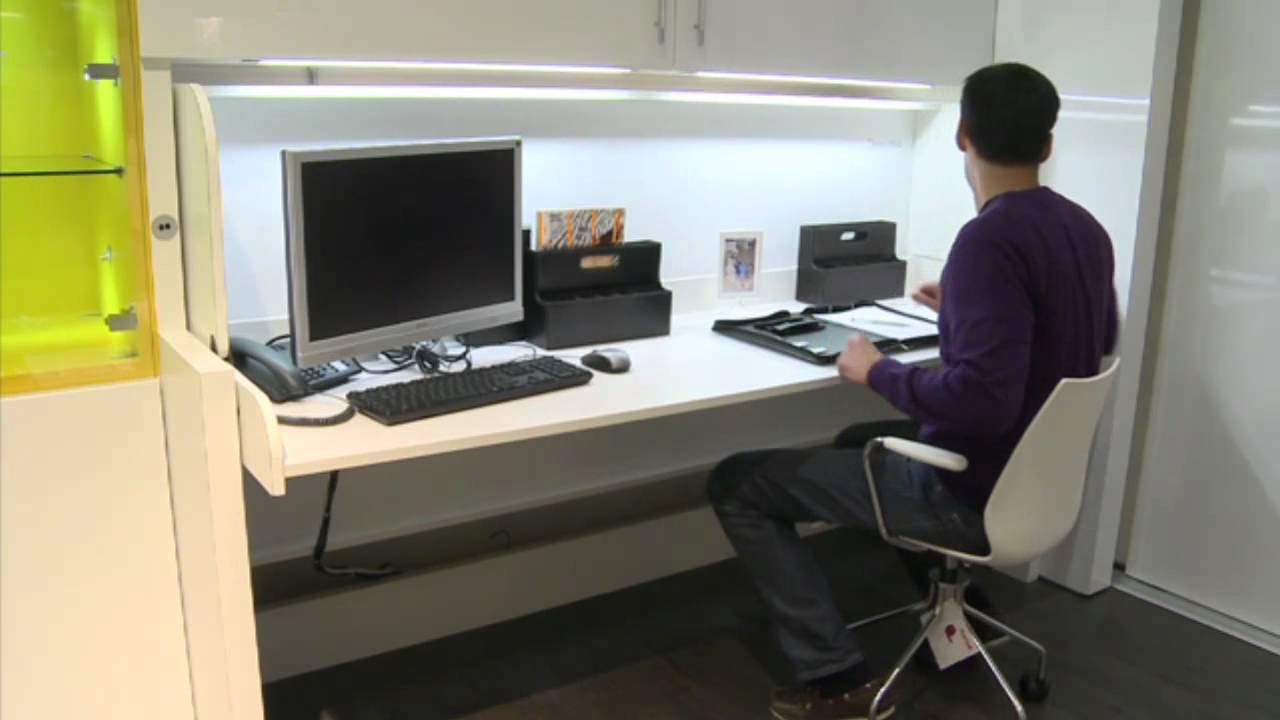 Schreibtisch Mit Wohnwand Integriertem Amped For