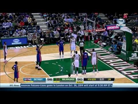Andre Drummond vs. Bucks: 24 pts, 19 rebs, 3 blks & 2 stls #NBABallot