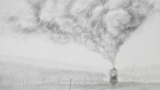 How To Draw Smoke How To Draw A Realistic Train