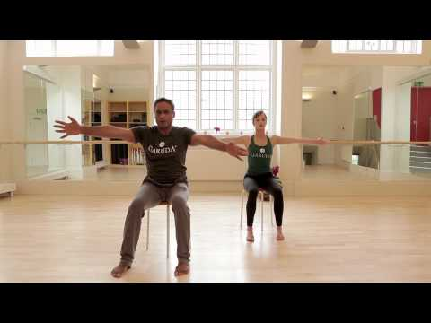Garuda Dhara Chair Workout 1