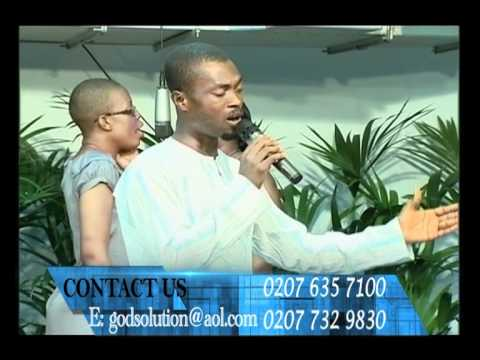 Pastor Danso Worships @ God's Solution Centre 11/8/11 pt 1