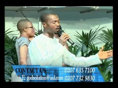 Pastor Danso Worships @ God's Solution Centre 11/8/11 pt 1