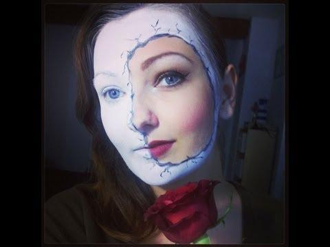 maquillage artistique poupée cassée