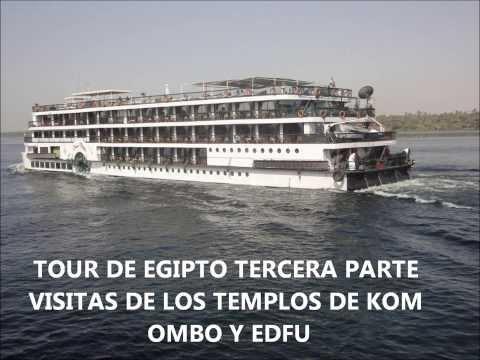 TOUR DE EGIPTO TERCERA PARTE KOM OMBO Y EDFU