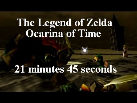 The Legend of Zelda: Ocarina of Time Speedrun by ZFG in 21:45 [Commentated]