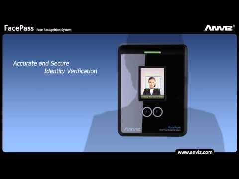 Facepass Pro rilevazione presenze e controllo accessi con riconoscimento facciale presentazione ufficiale prodotto Anviz