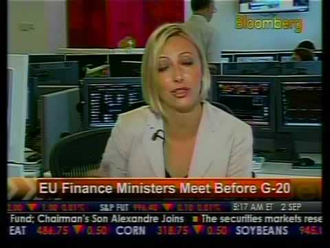 EU Finance Ministers Meet Before G-20 - Bloomberg