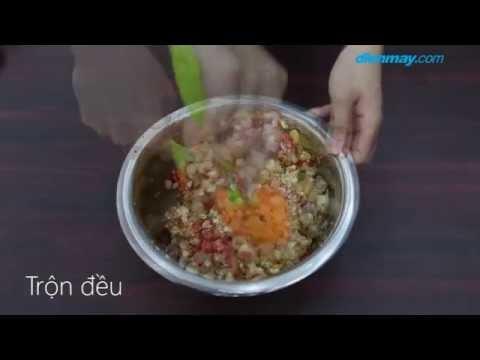 Cách làm bánh trung thu thập cẩm bằng lò nướng thủy tinh
