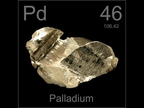 Palladium is up highest in years