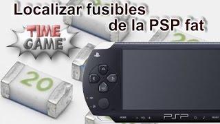 Fusibles Principales En Una PSP Fat