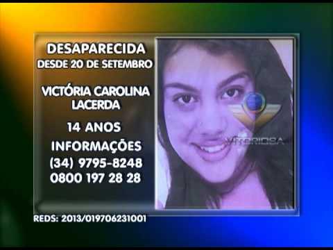 Adolescente de 14 anos desaparecida em Uberlândia