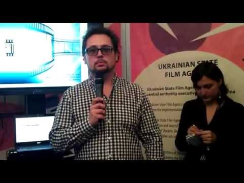 Ukrainian film projects' presentation at the Cann image