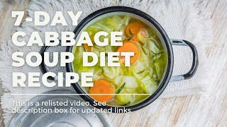 How To 7 Day Cabbage Soup Diet Recipe