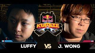 Red Bull Kumite 2016 : Justin Wong vs. Luffy - Top 16