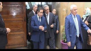 لأول مرة..وزير العدل أوجــار في جولة بمحكمة الاستئناف بالدارالبيضاء/تكنولوجيا/كاميرات/محاكمة عن بُعد |