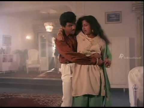 Sathyaraj & Gouthami Hot scenes
