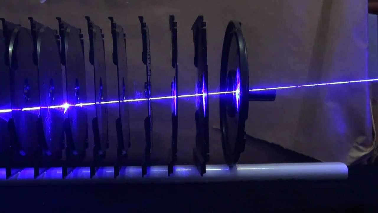2w 445nm Blue Laser Versus 11 Cd Cases