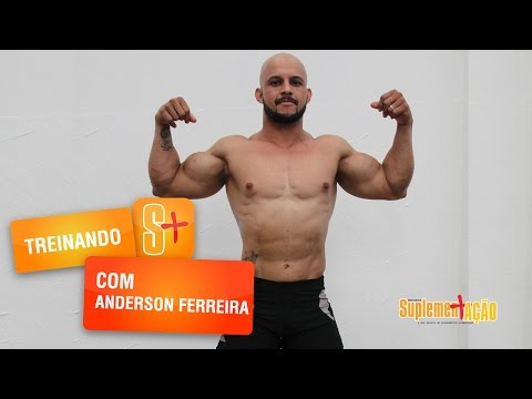 Anderson Ferreira - Treino de Bíceps