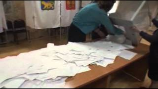 Raw Video: Russia Votes in Presidential Election