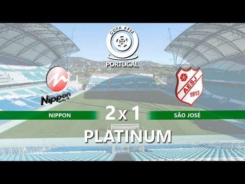 NIPPON X A.E. SAO JOSE - (FINAL PLATINUM ) COPA AFIA PORTUGAL 2018