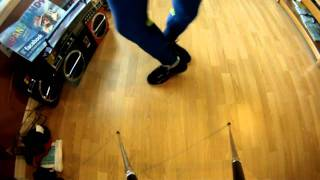Ankle & Calf Warm Up w/ Spandy Andy - music by Dan Balan