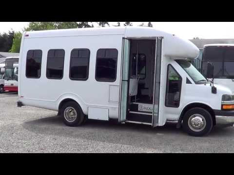 Northwest Bus Sales - 2006 Chevrolet Startrans Diesel 14 Passenger Bus For Sale - S95892