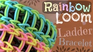 Rainbow Loom : Ladder Bracelet How To