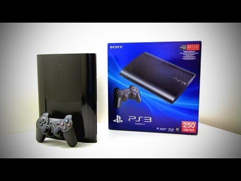 New PS3 Super Slim Unboxing (PlayStation 3 Super Slim 250GB Game Of The Year Edition Unboxing), PRICING & AVAILABILITY PS3 Super Slim Bundle - http://amzn.to/OSKKTc Welcome to my PS3 Super Slim unboxing. The PS3 Super Slim is the latest version of the S...