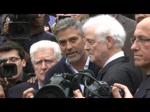 George Clooney aresztowany za protest w obronie Sudańczyków