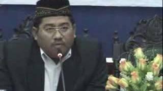 Debat Terbuka NU - Wahabi Part 3