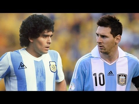 Lionel Messi Vs Diego Maradona ● Who Is The King ? ● |HD|