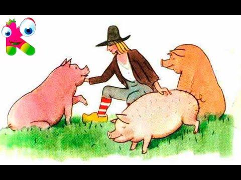Рисунки детей о сказке свинопас