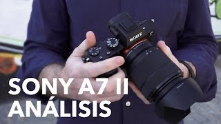 Sony A7 II, análisis