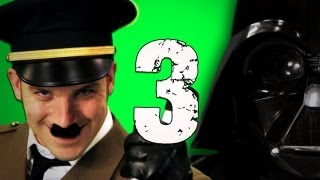 Hitler vs Vader 3. Epic Rap Battles of History Season 3.