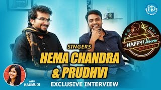Singers Hemachandra & Prudhvi Chandra Interview