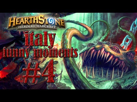 HEARTHSTONE ITALIA- FUNNY MOMENTS #4