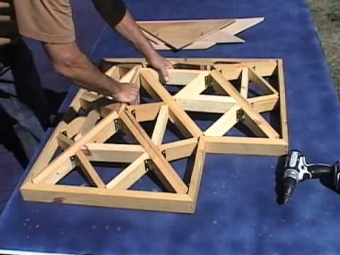 Aldoized L Shaped Folding Roof Wmv Youtube